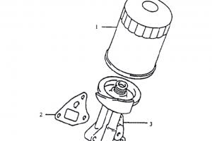 Масляный фильтр в комплекте