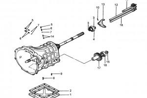 Детали КПП JC520TM15