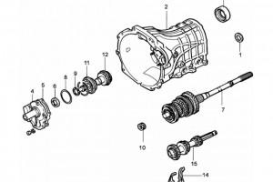Детали КПП JC520TM15 (4)