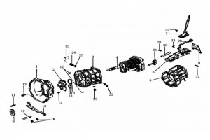 Детали КПП 5DYM10-1