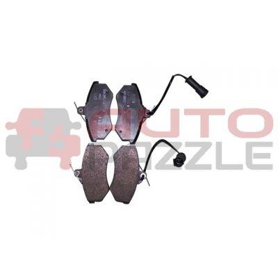 Колодки тормозные передние (с ушком)
