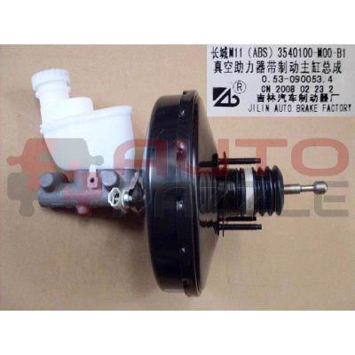 Вакуумный усилитель в сборе с главным тормозным цилиндром под ABS