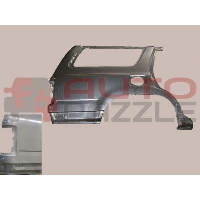 Панель наружняя задняя правая с окном(под держатель запасного колеса) -