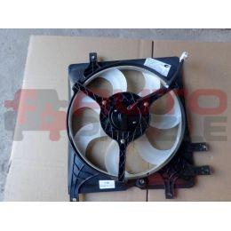 Вентилятор радиатора охлаждения в сборе левый (дервейс)
